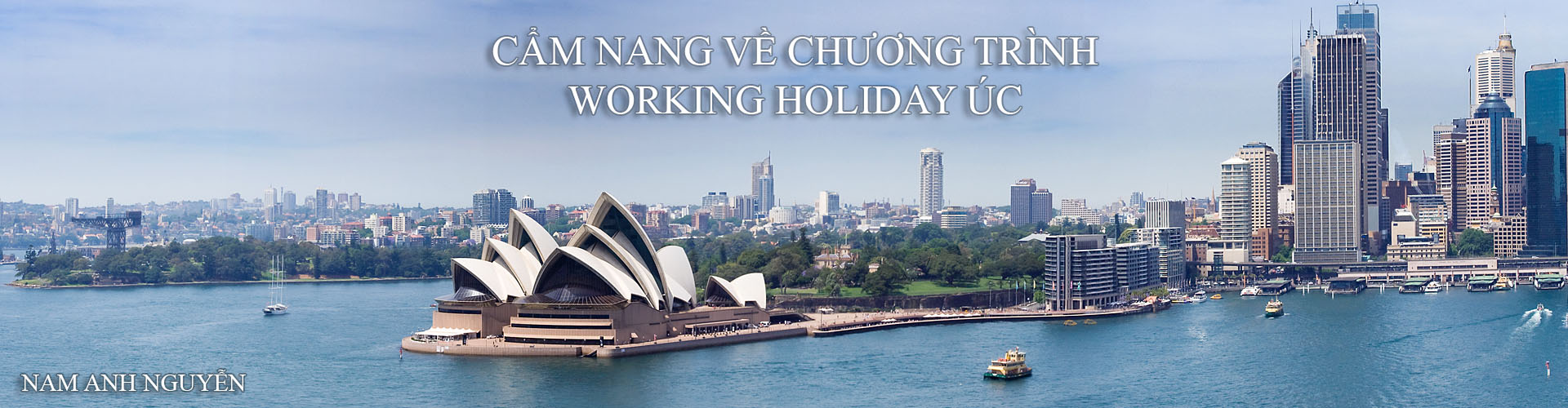 cẩm nang working holiday úc